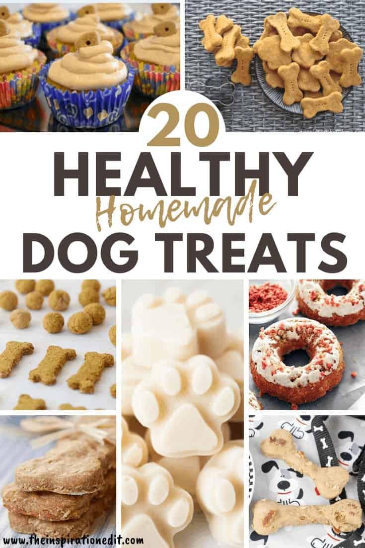 20 Healthy Homemade Dog Treats