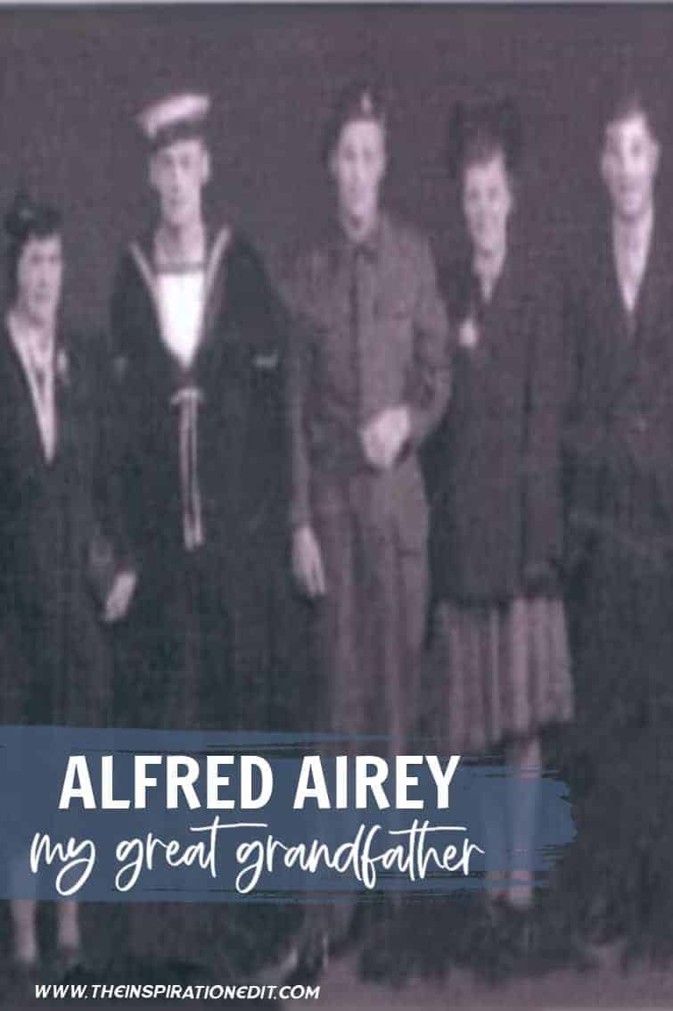 Alfred Airey My Great Grandfather