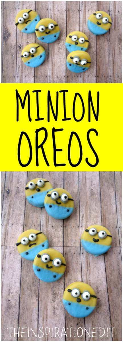 MINION OREO TUTORIAL