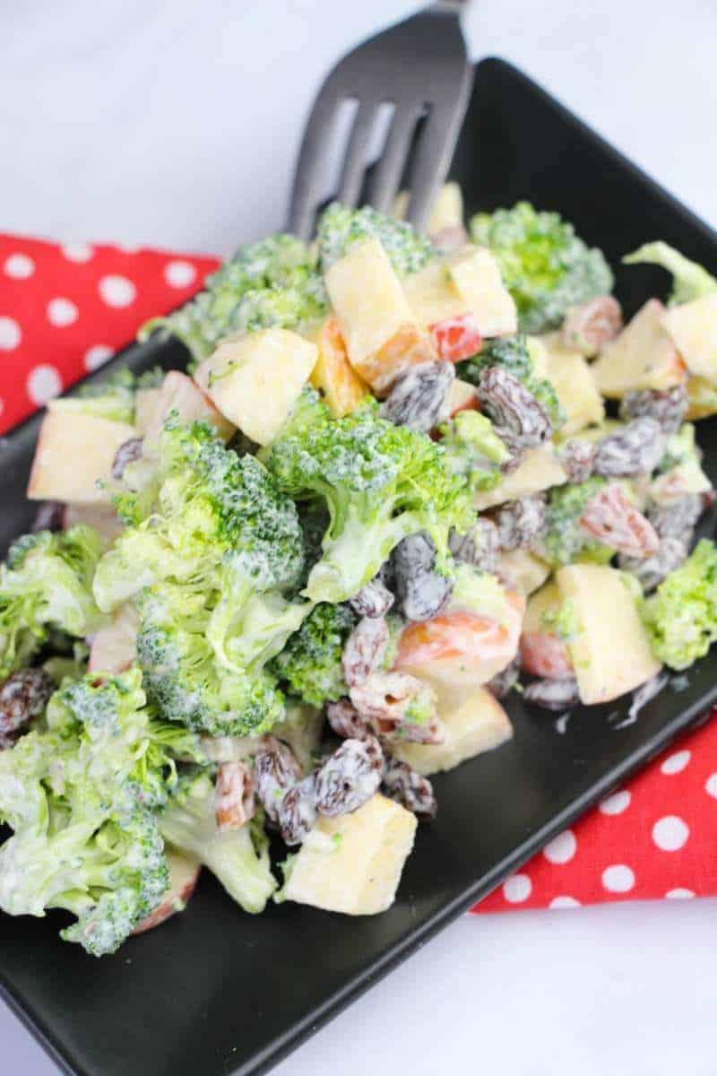 Summer Salad Broccoli Salad Recipe