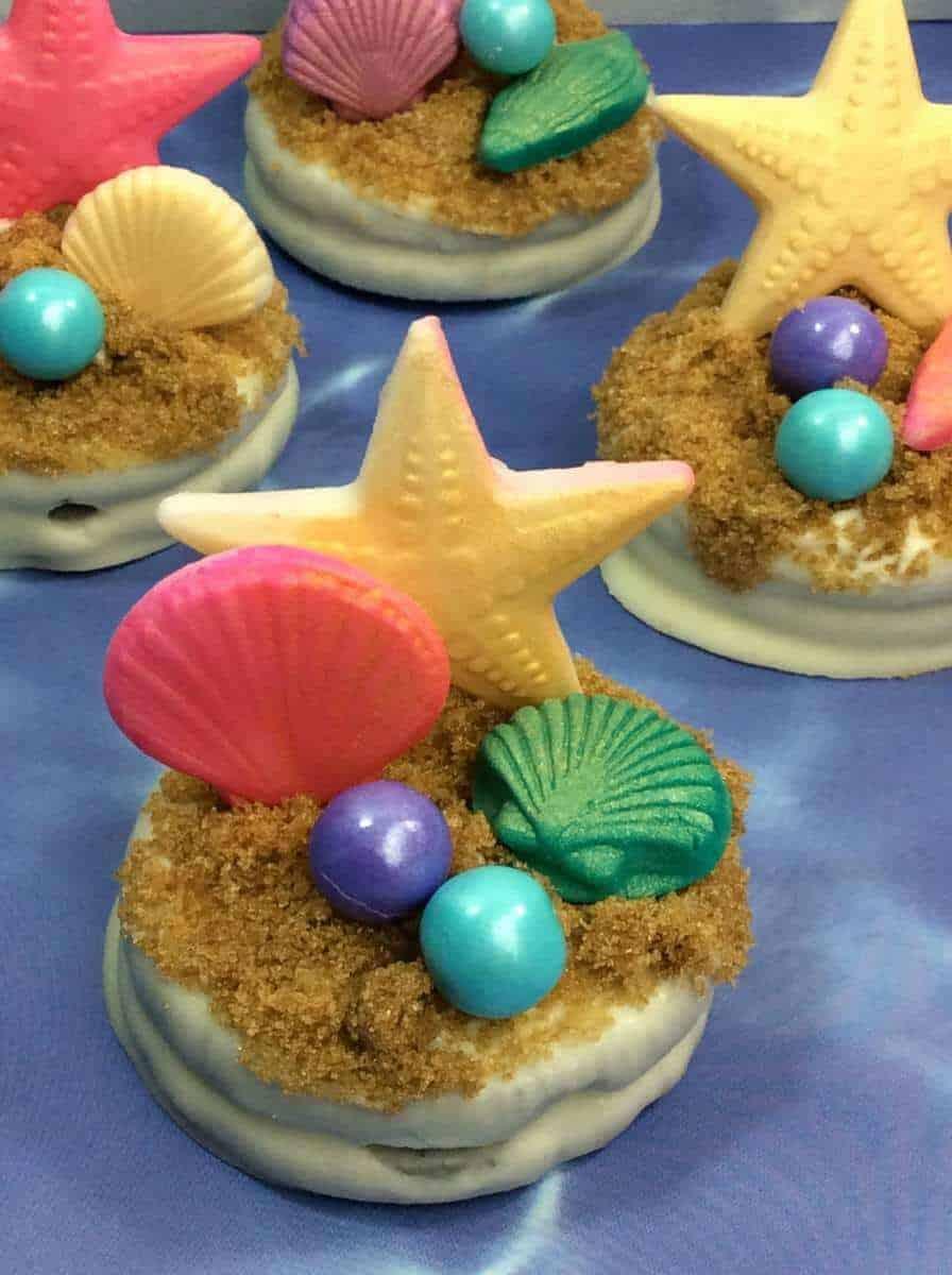 The Little Mermaid Oreo Cookies