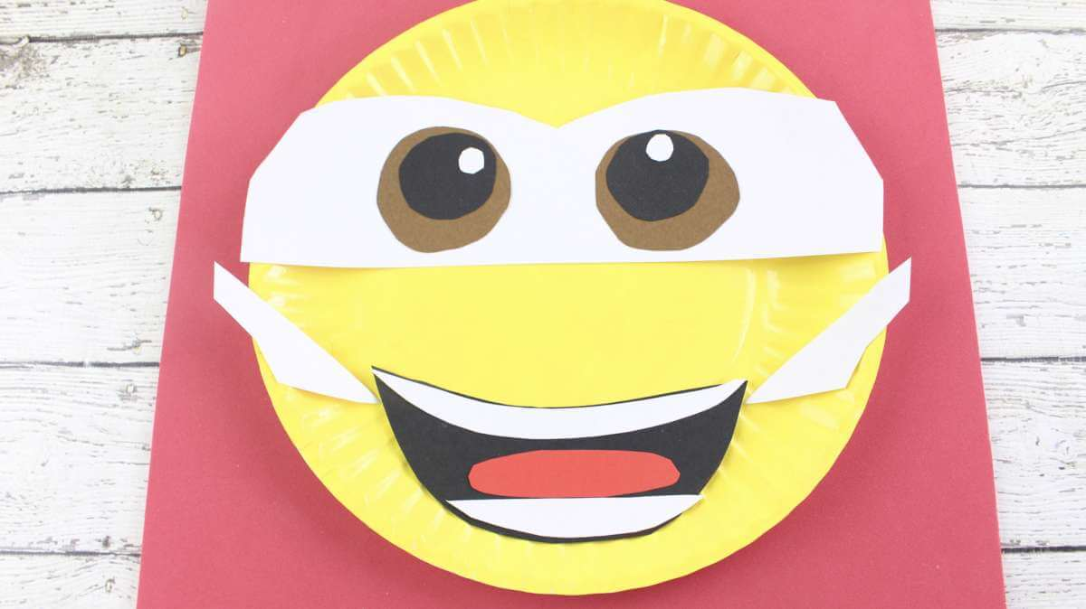 disney paper plate craft