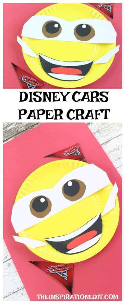 DISNEY PAPER PLATE CRAFT