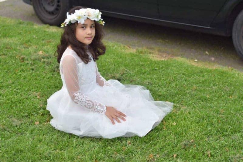 swan princess girls outfit
