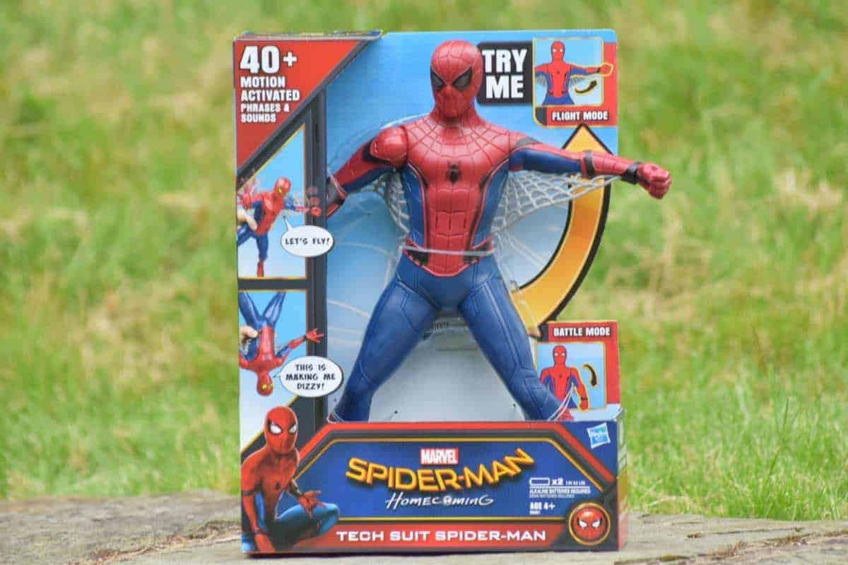 spider man tech suit spiderman