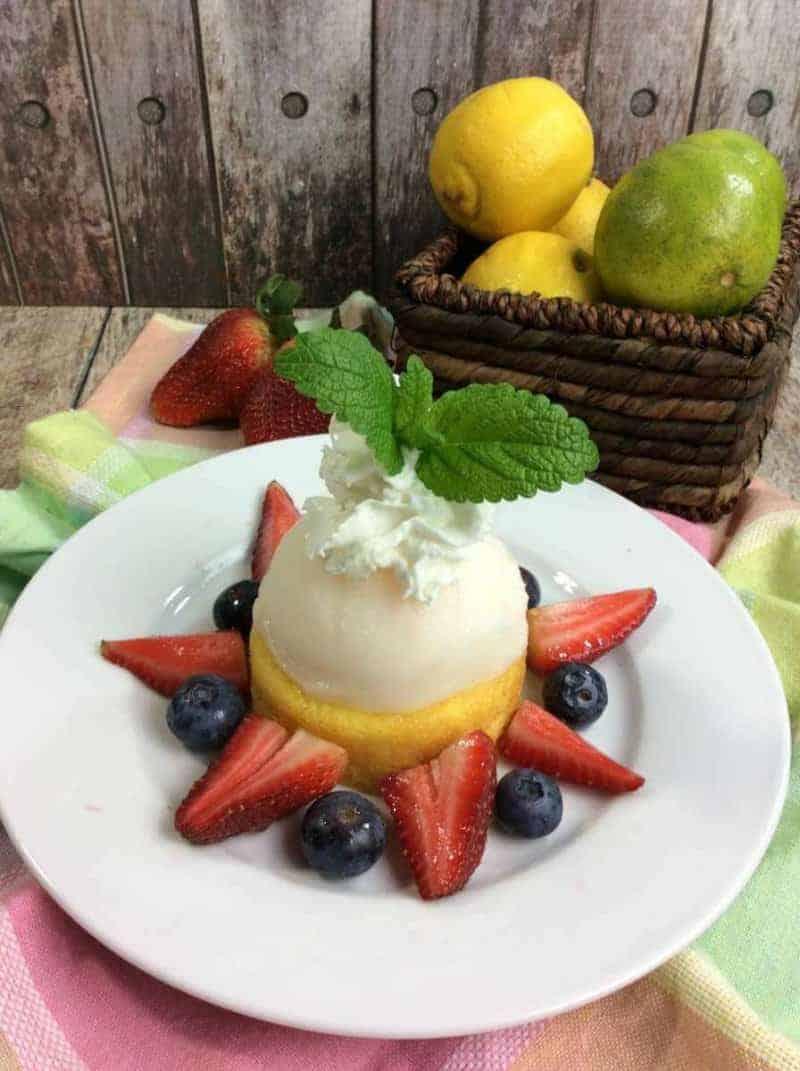 Lemon sorbeto recipe