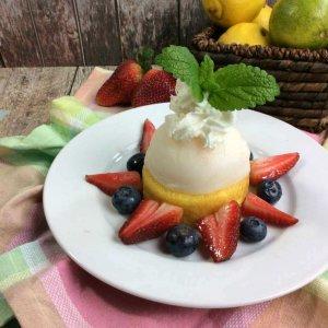 Lemon Sorbeto Dessert