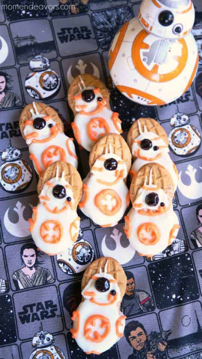 star wars cookies bb8 cookies