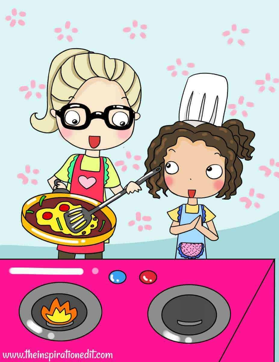 what age can a child use a cooker