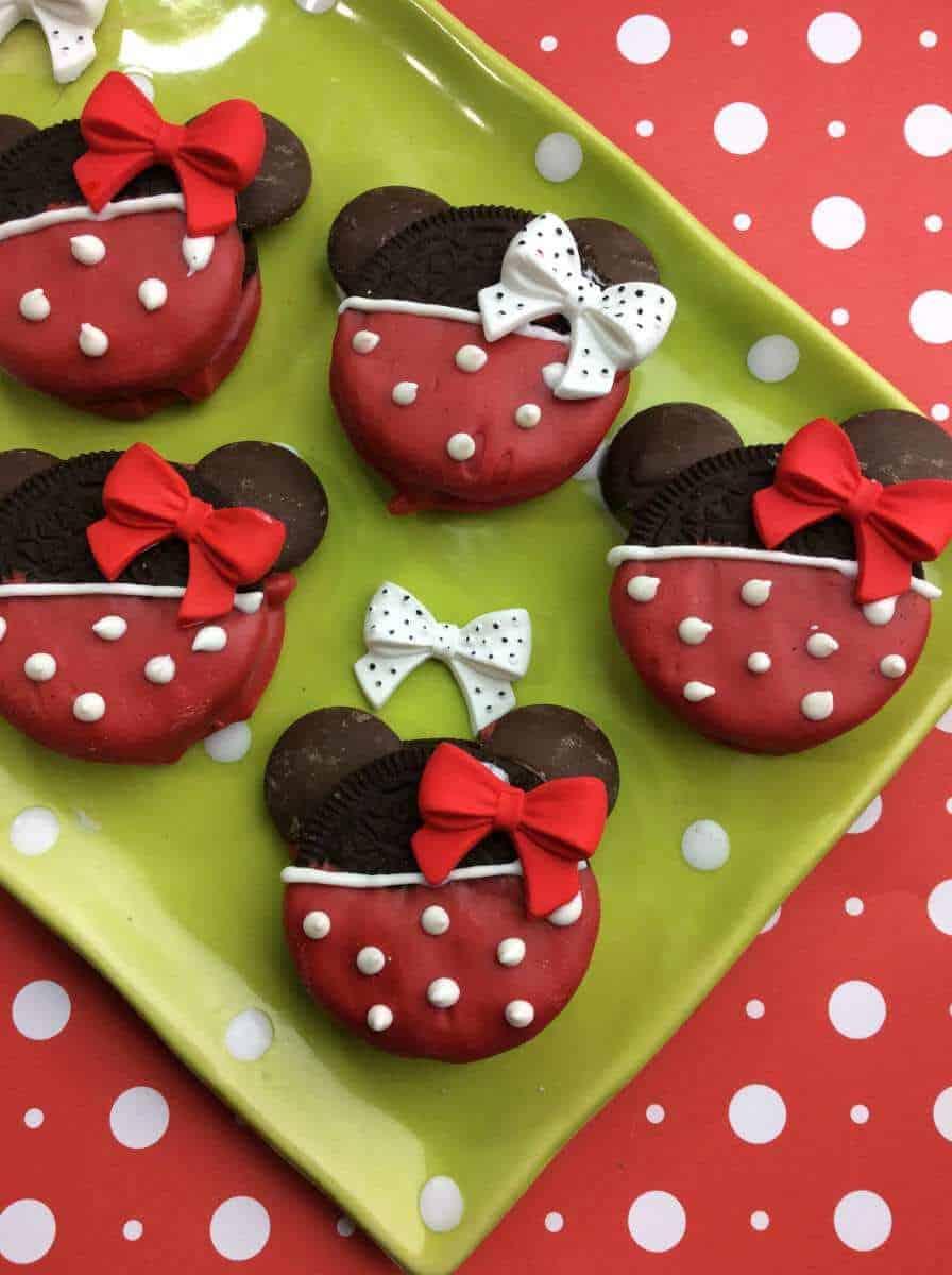 Minnie Mouse Oreo Cookie Tutorial