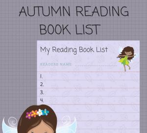 Autumn Reading Book list