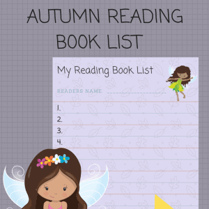 Autumn Reading Book list