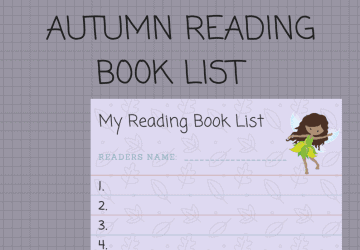 Autumn Reading Book