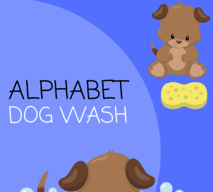 Alphabet Dog Wash
