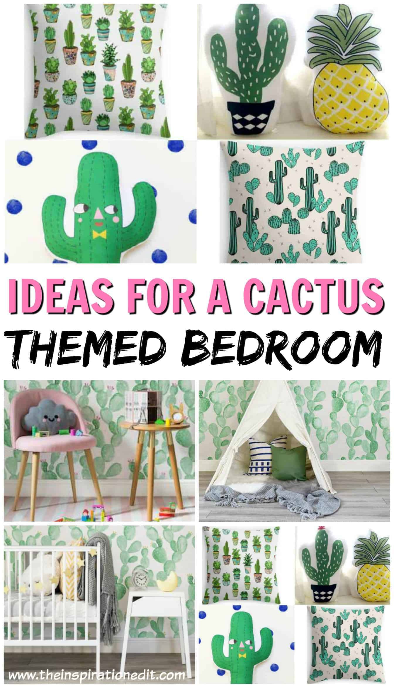 Cactus themed room