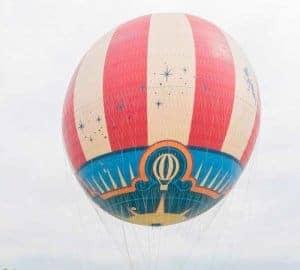 disneyland paris hot air balloon