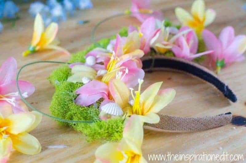 Moana Disney Ears are a great party activity or diy craft!