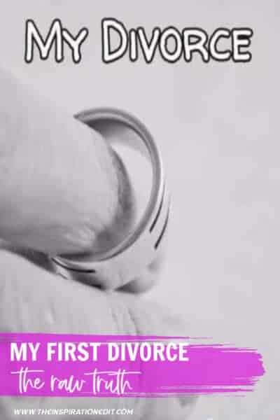 My First Divorce The Raw Truth