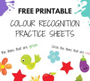 colour worksheets for kids
