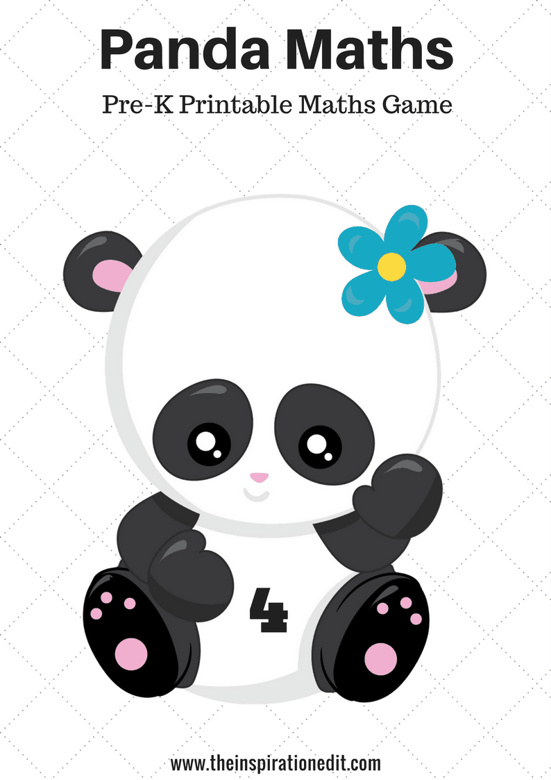 Panda maths preschool game