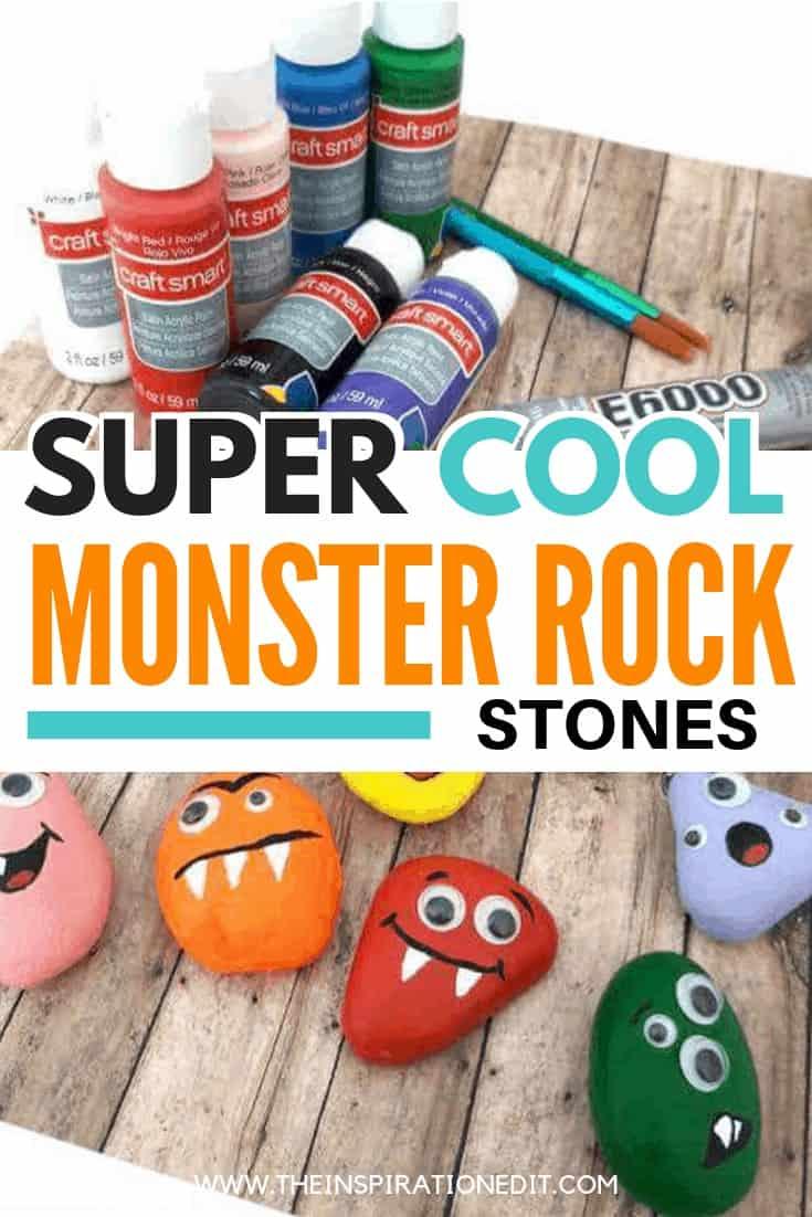 halloween monster stones