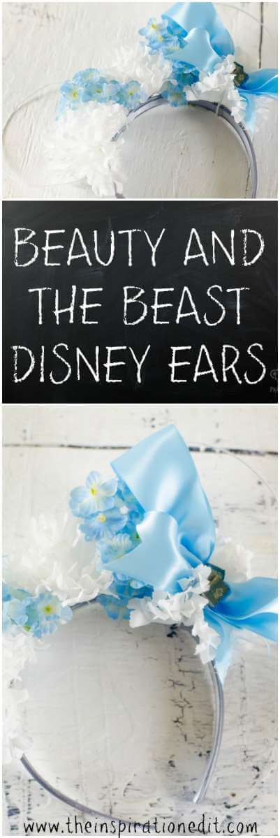 Belle Disney ears