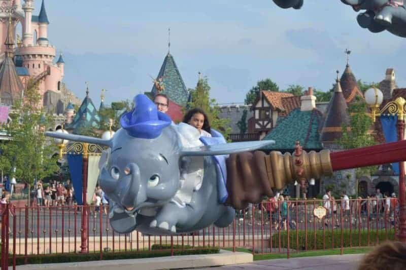 Dumbo Disneyland Ride