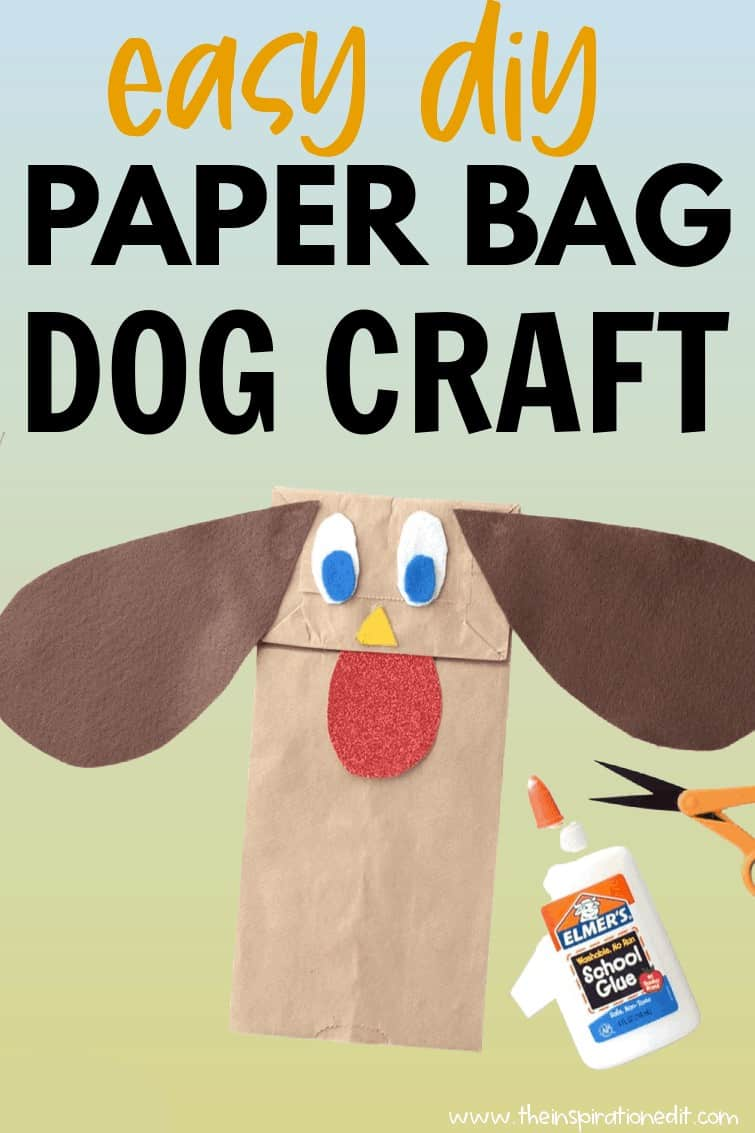 paper dog craft