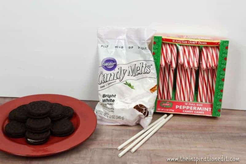 candy cane oreo cookies