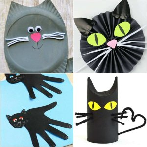cat themed crafts