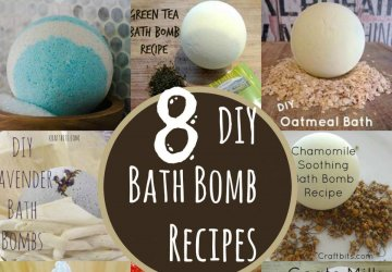 diy bath bomb recipes