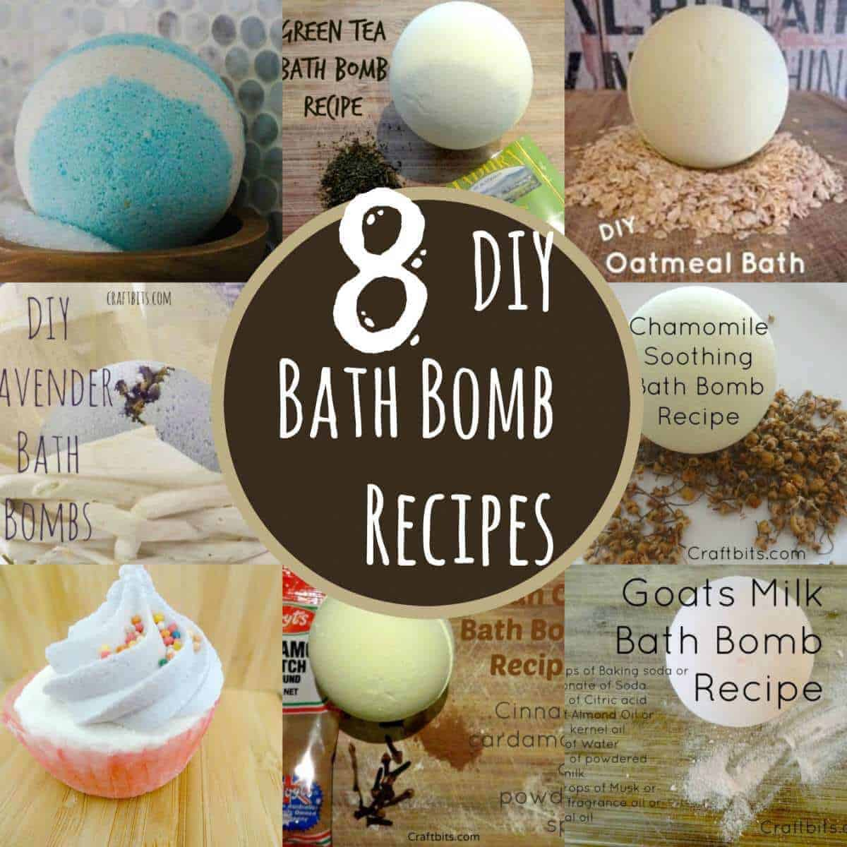 diy bath bomb recipes
