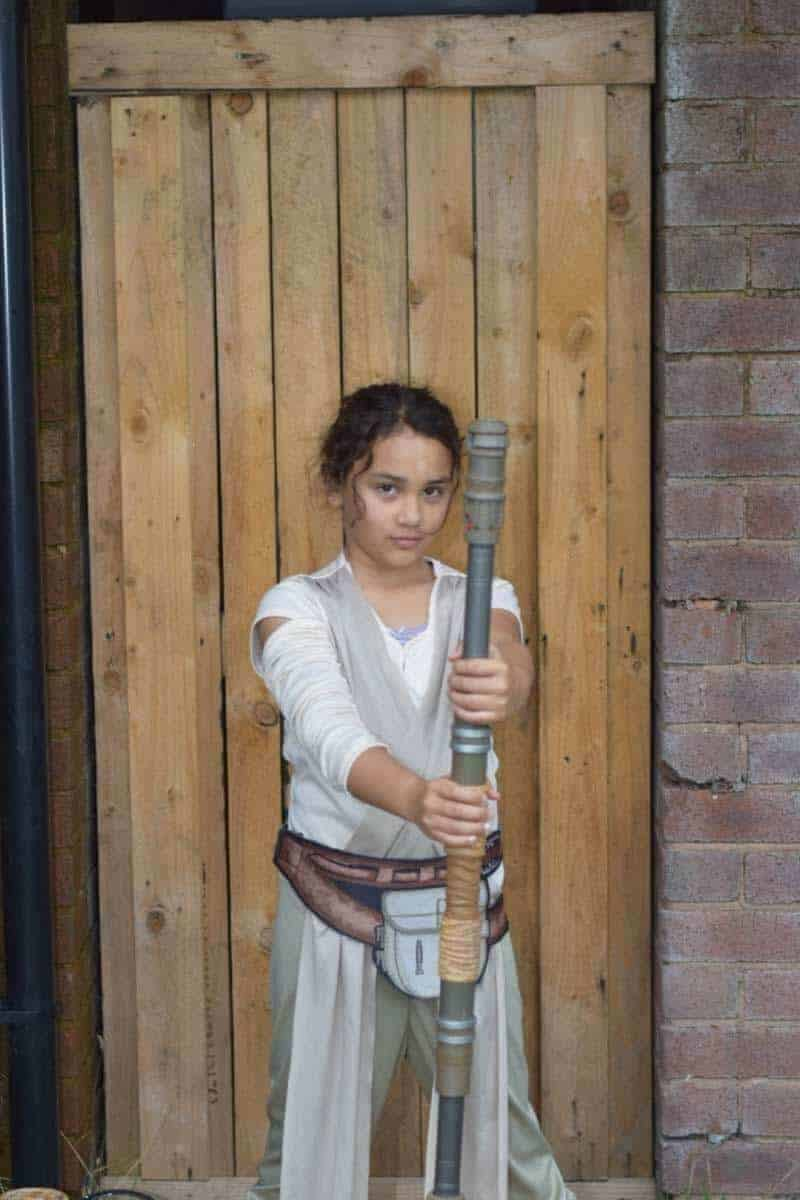 Star Wars Forces Of Destiny costume
