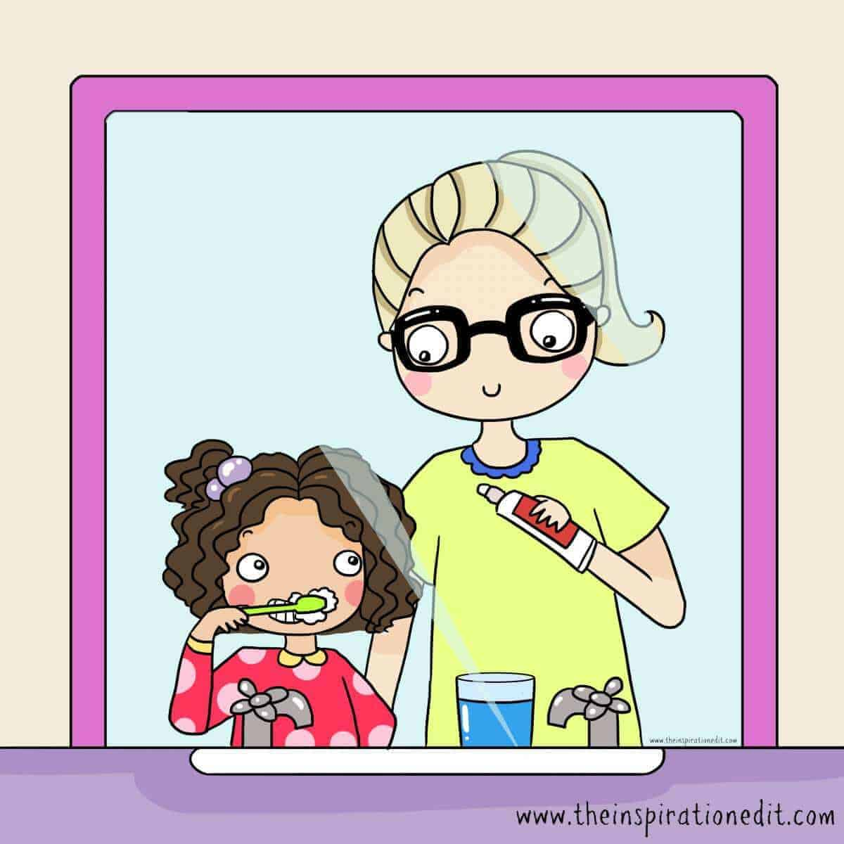 teach kids to brush teeth - Tooth Brushing Songs