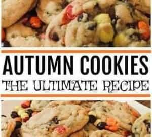 autumn cookie recipe