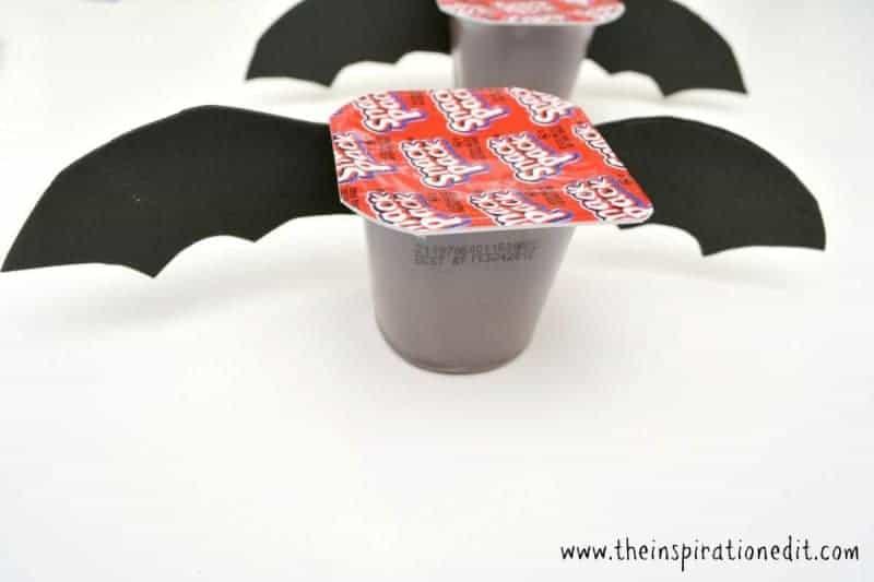 Chocolate Pudding Halloween Snacks