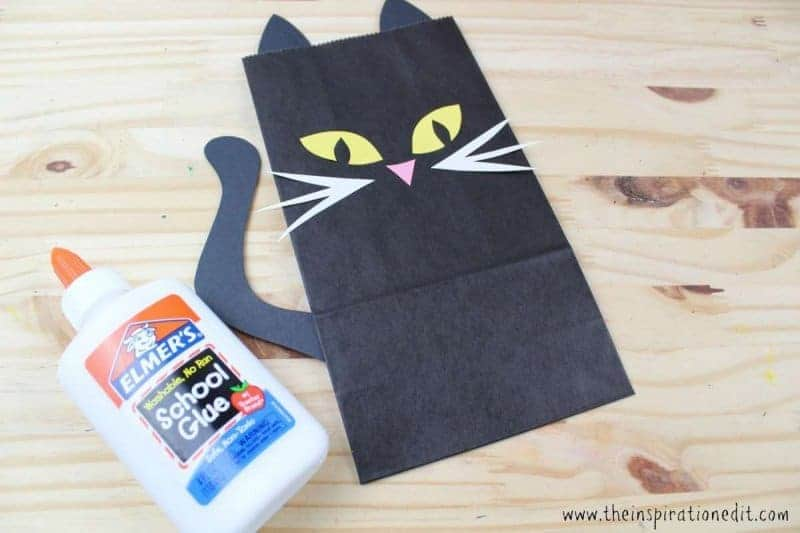 halloween cat bag
