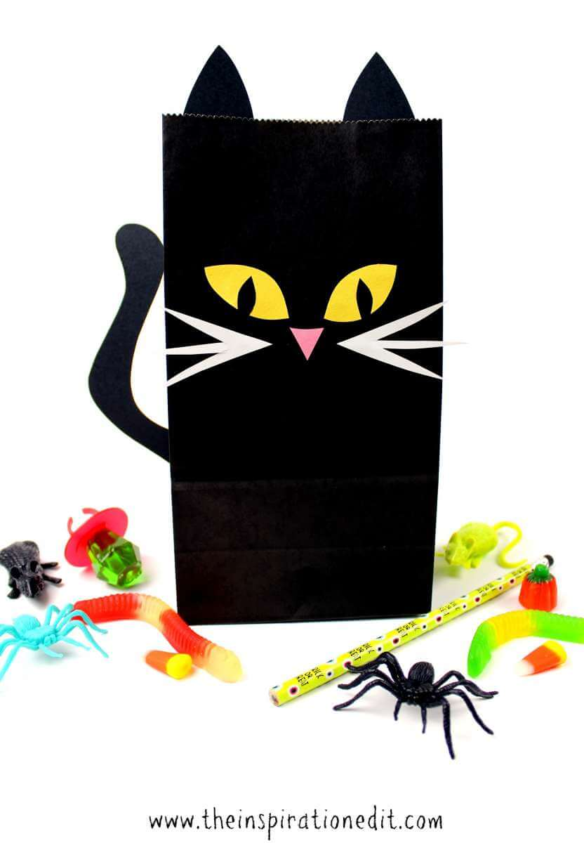 halloween cat craft idea