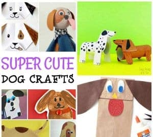 dog crafts for preschool kids