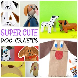 dog crafts for preschool kids