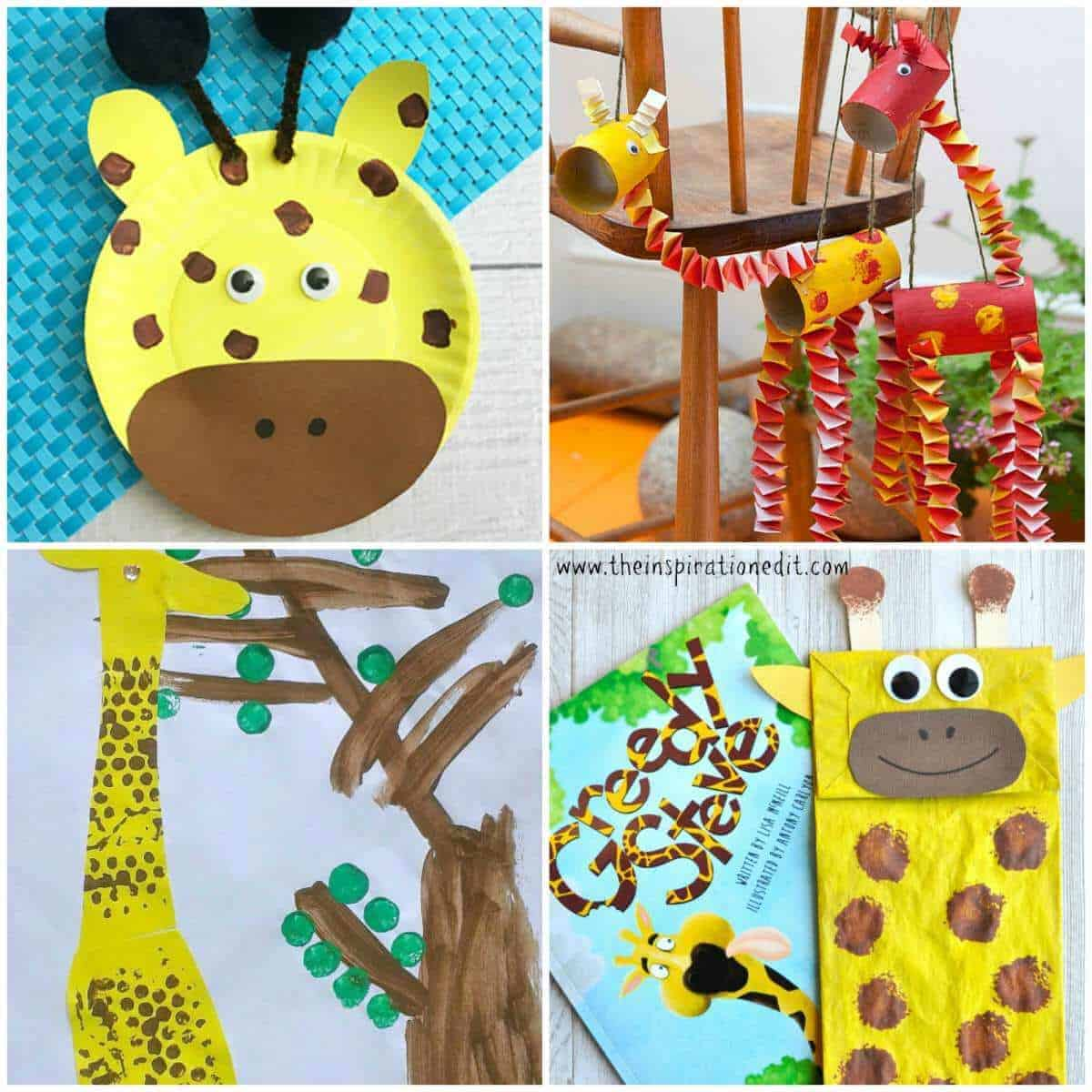 giraffe crafts for preschool kids