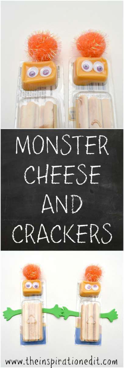 halloween monster crackers