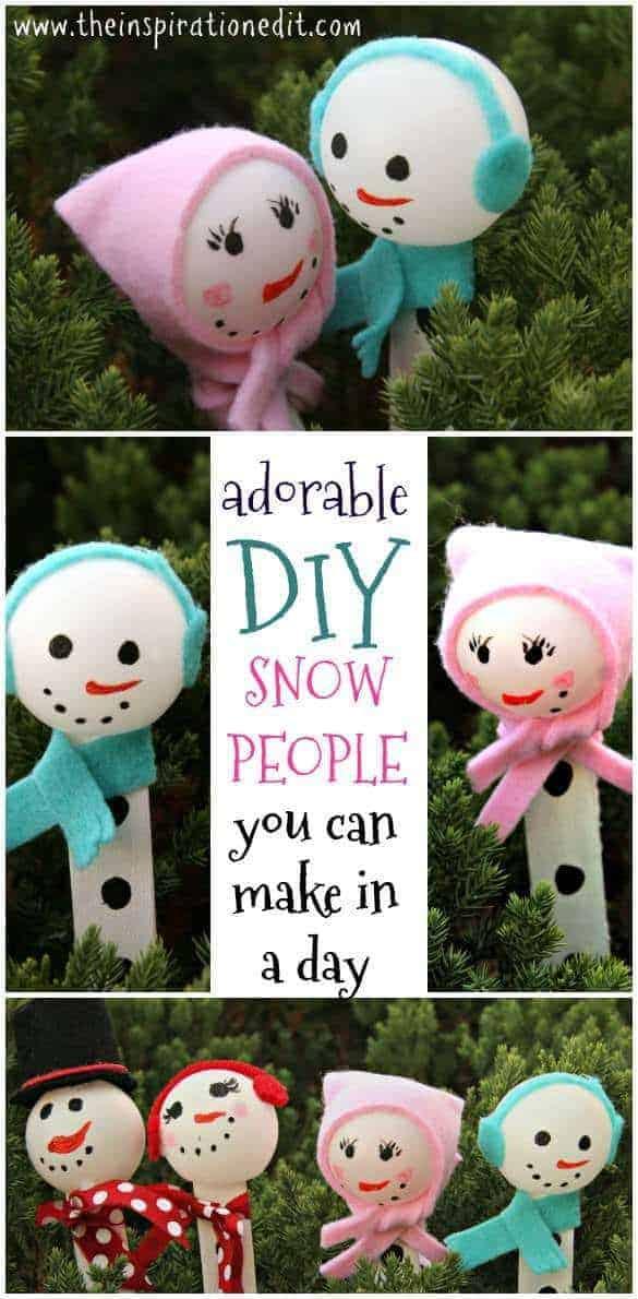 DIY Snowman Decoration