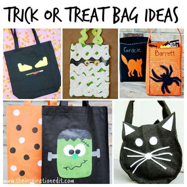 20 Diy Trick Or Treat Bags The Inspiration Edit