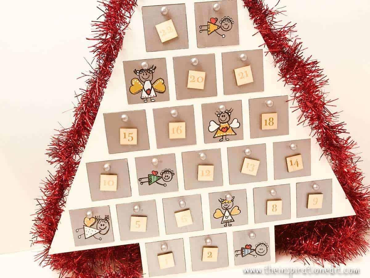 Angel Themed Diy Advent Calendar 183 The Inspiration Edit
