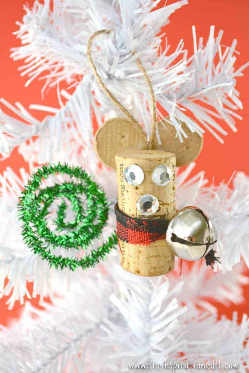 wine cork mouse craftwine cork mouse craft