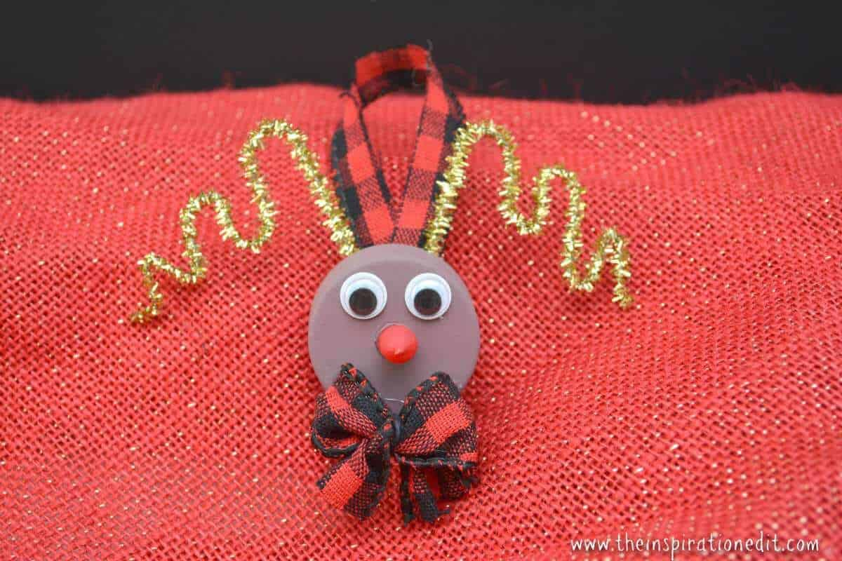 rudolf christmas tree ornament