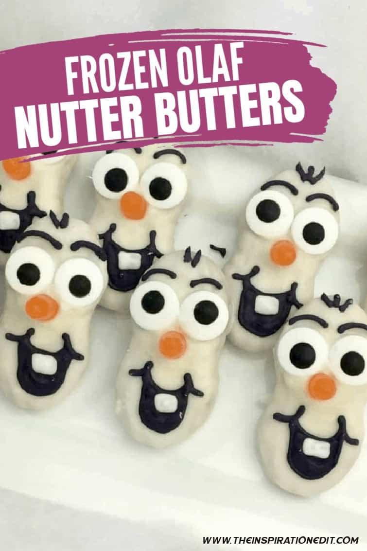 FROZEN OLAF NUTTER BUTTERS