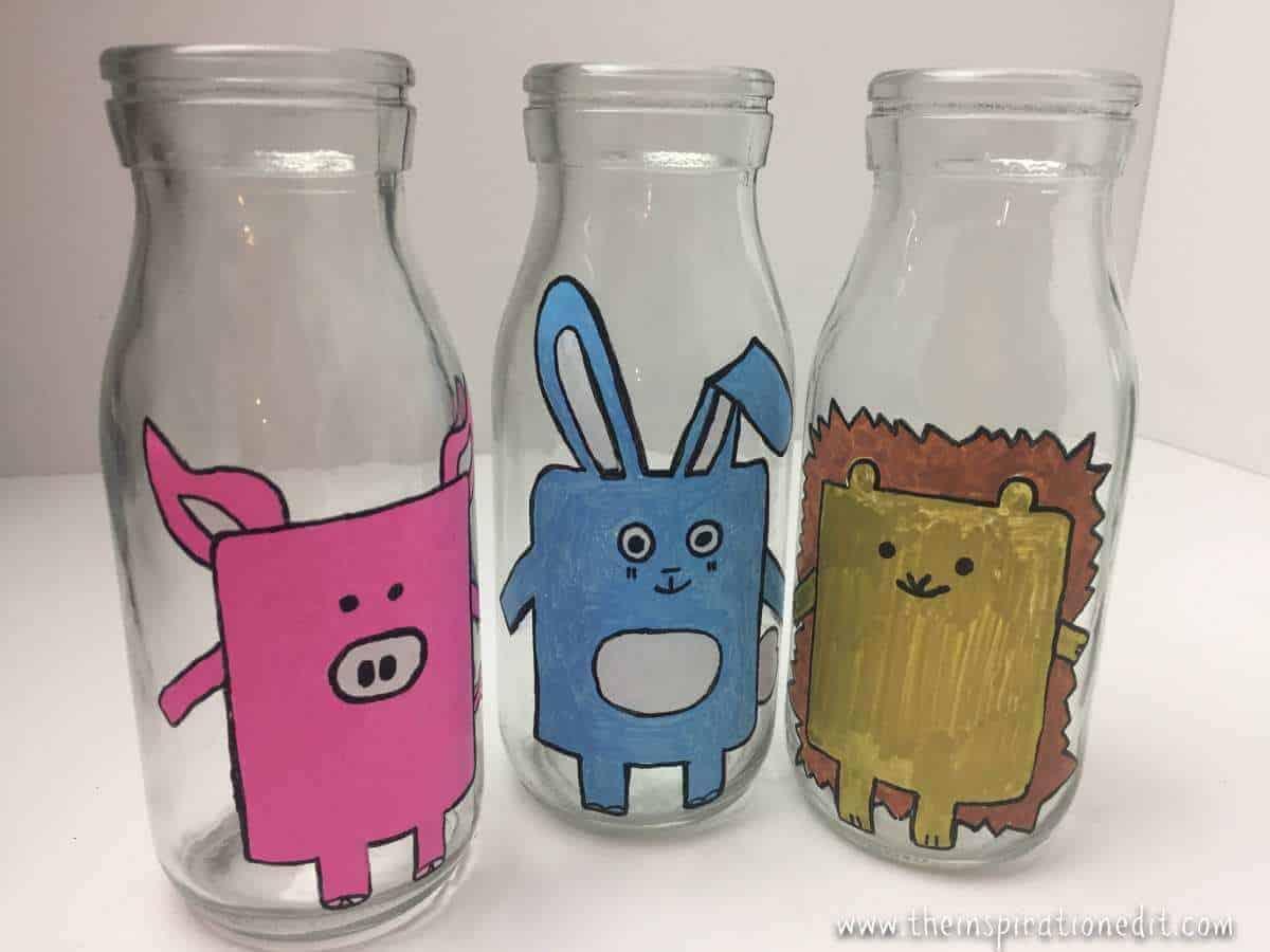 milk bottle kawaii Rabbit