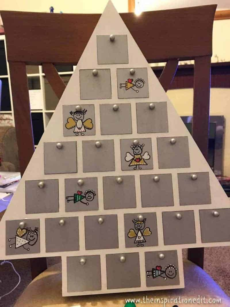 diy advent calendar idea for christmas